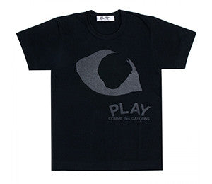CDG Play PLAY Black Eyes T-Shirt
