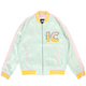FLAMES JACKET / GRAYED JADE / S