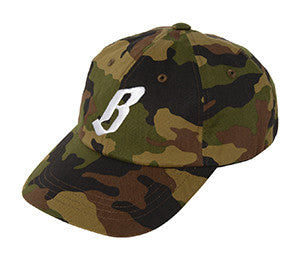 Billionaire Boys Club FLYING B CAMO STRAPBACK