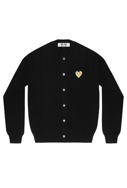 Gold Heart Cardigan