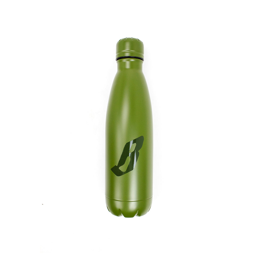 B LOGO STEEL BOTTLE
