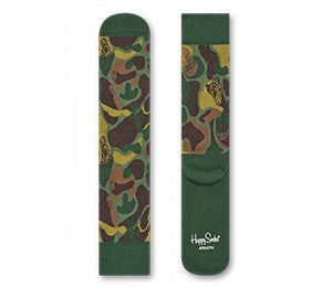 Happy Socks BBC CAMO ATHLETIC SOCKS
