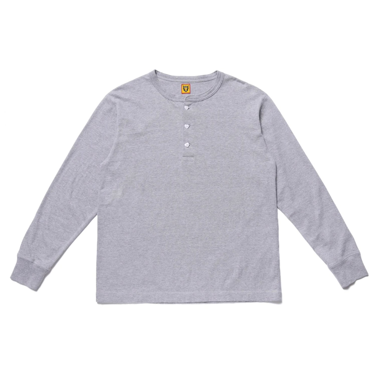HENLEY NECK LONG T-SHIRT