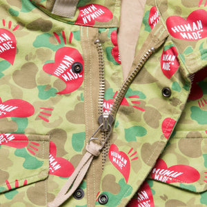 HEART CAMO FIELD JACKET
