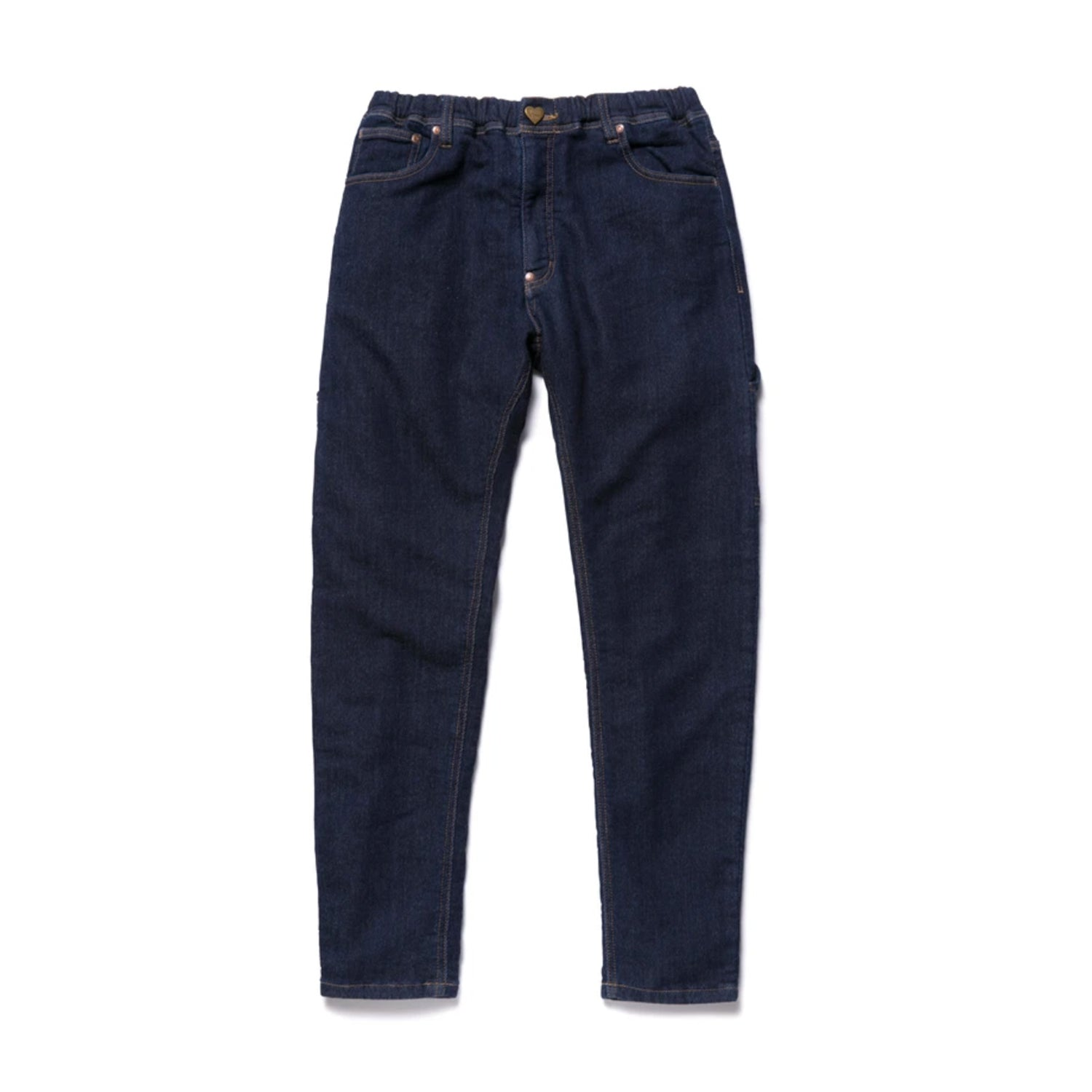 RELAX DENIM PANTS ONE WASH