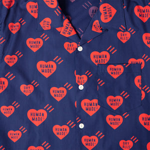 HEART PATTERN ALOHA SHIRT