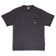 POCKET T-SHIRT #1 / BLACK / S