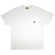 POCKET TEE / WHITE / S