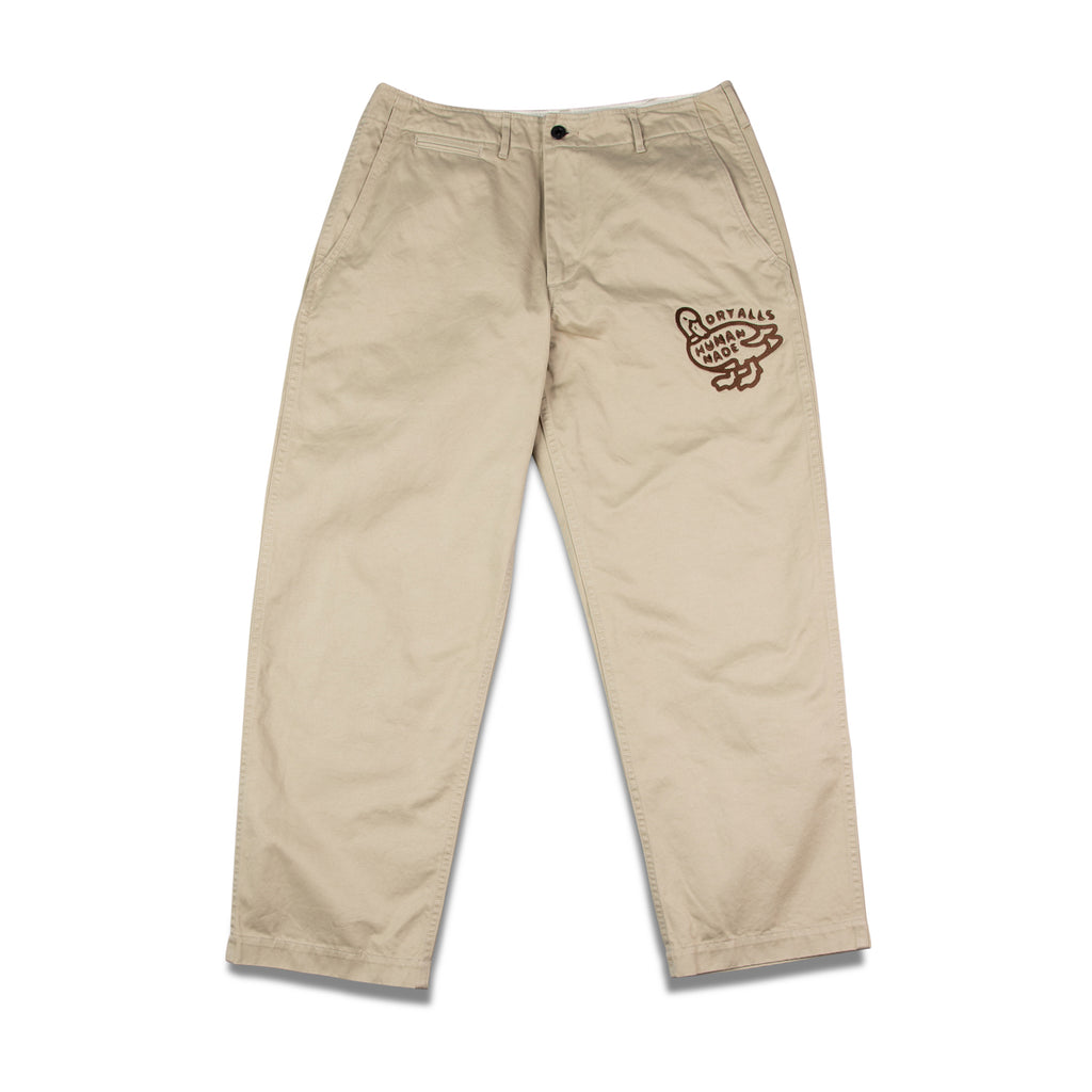 EMBROIDERY MILITARY CHINO