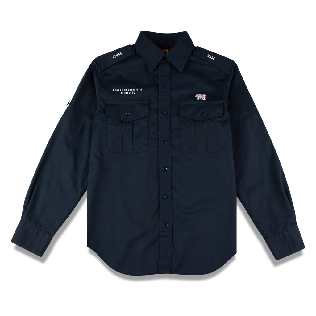 MILITARY L/S SHIRT POLAR BEAR