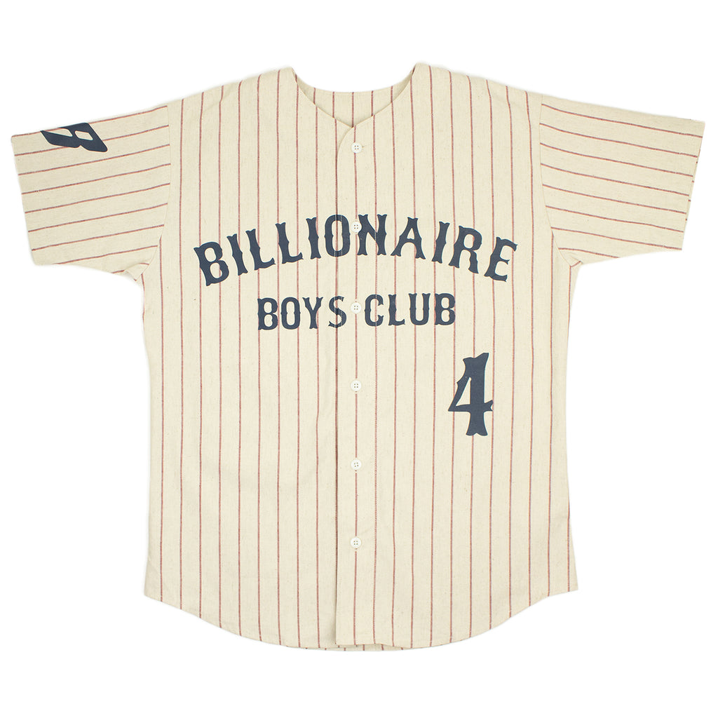 BILLIONAIRE BOYS CLUB BASEBALL JERSEY