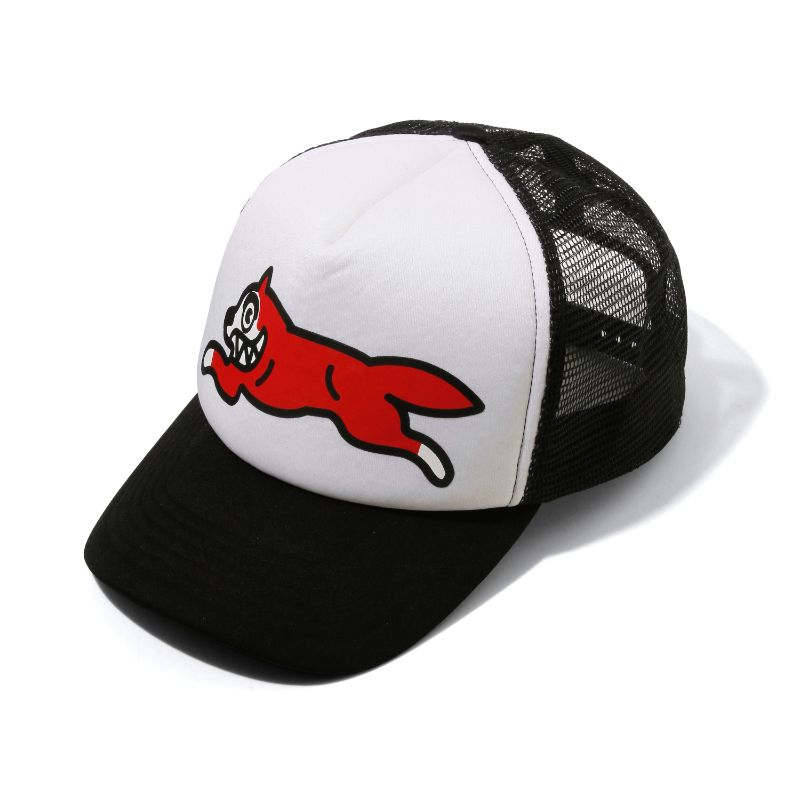 RUNNING DOG TRUCKER HAT