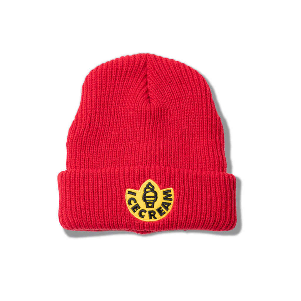 RUBBER KNIT HAT