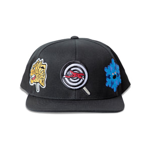 PATCHES SNAPBACK HAT