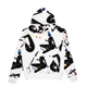 BGC X JILLIAN EVELYN GALAXIES HOODIE / WHITE / S