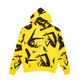 BGC X JILLIAN EVELYN GALAXIES HOODIE / YELLOW / S