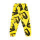 BGC X JILLIAN EVELYN GALAXIES SWEATPANT / YELLOW / S