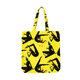 BGC X JILLIAN EVELYN GALAXIES TOTE BAG / YELLOW / O/S