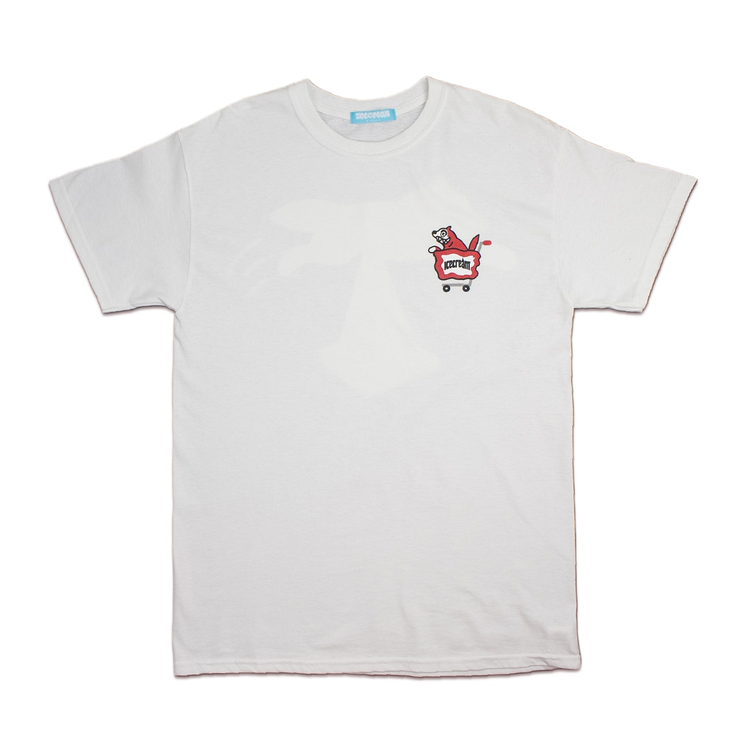 ICECREAM X YOPPY RUNNING DOG TEE