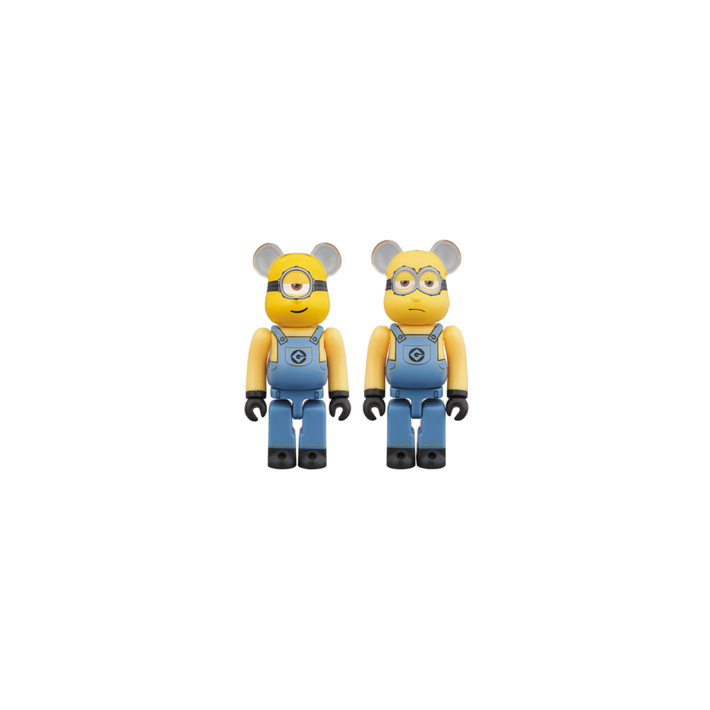 BE@RBRICK STUART & KEVIN 2 PACK 100%