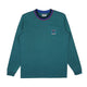 L/S POCKET T-SHIRT / TEAL / S