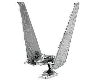 METAL EARTH STAR WARS KYLO REN'S COMMAND SHUTTLE