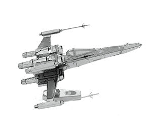 FASCINATIONS METAL EARTH STAR WARS POE DAMERON'S X-WING FIGHTER