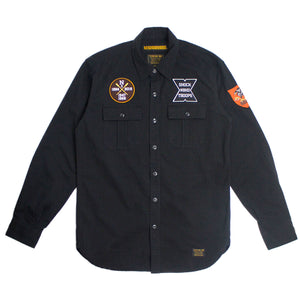 OFFICER/ C-SHIRT LS