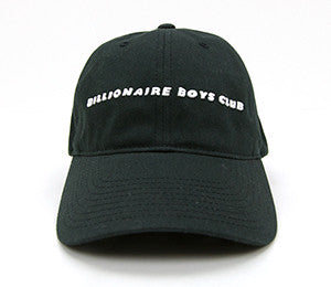 Billionaire Boys Club STRAIGHT LINE LOGO DAD HAT