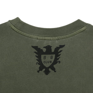OVERDYED STRAIGHT LOGO T-SHIRT
