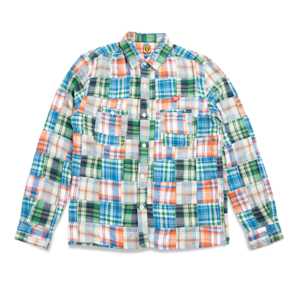 PATCHWORK L/S SHIRT