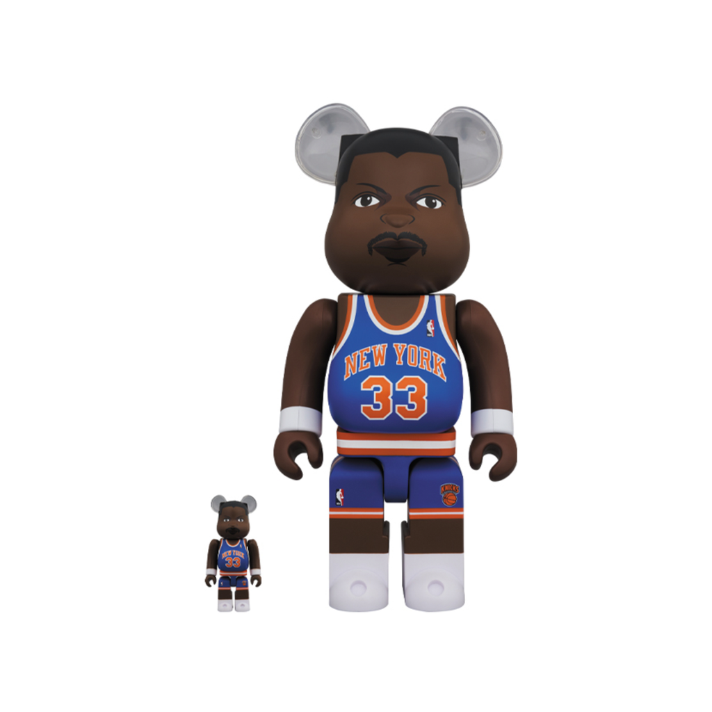 BE@RBRICK PATRICK EWING 100% & 400% SET