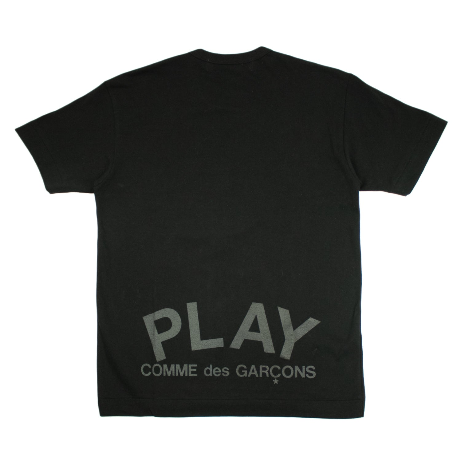 PLAY Double Black Heart T-Shirt