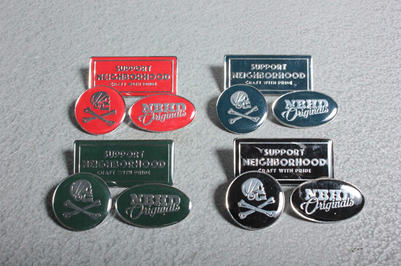 NEIGHBORHOOD Turn.3 Metal Pins