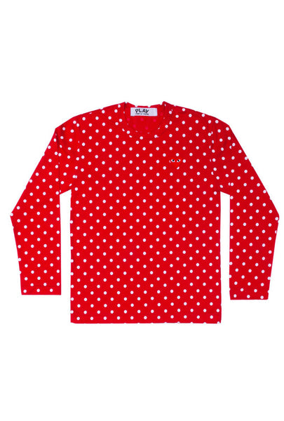 Polka Dot L/S Womens