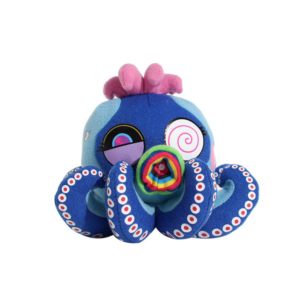 PLUSH BLUE OCTOPUS: MR. CAMO M