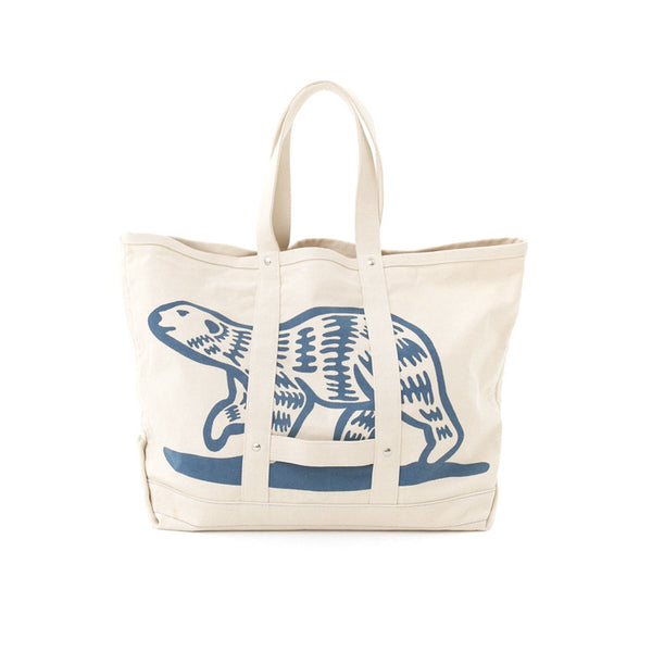 POLAR BEAR CANVAS TOTE BAG