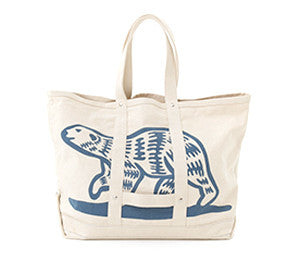 Human Made POLAR BEAR CANVAS TOTE BAG