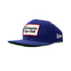 PATCH SNAPBACK HAT / royal / OS
