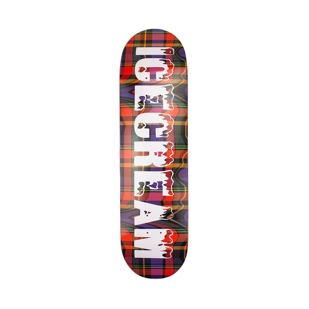PLAID SKATE DECK