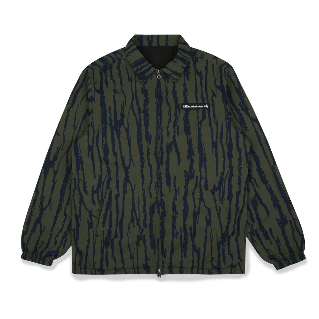 REVERSIBLE PRINTED COACH JACKET