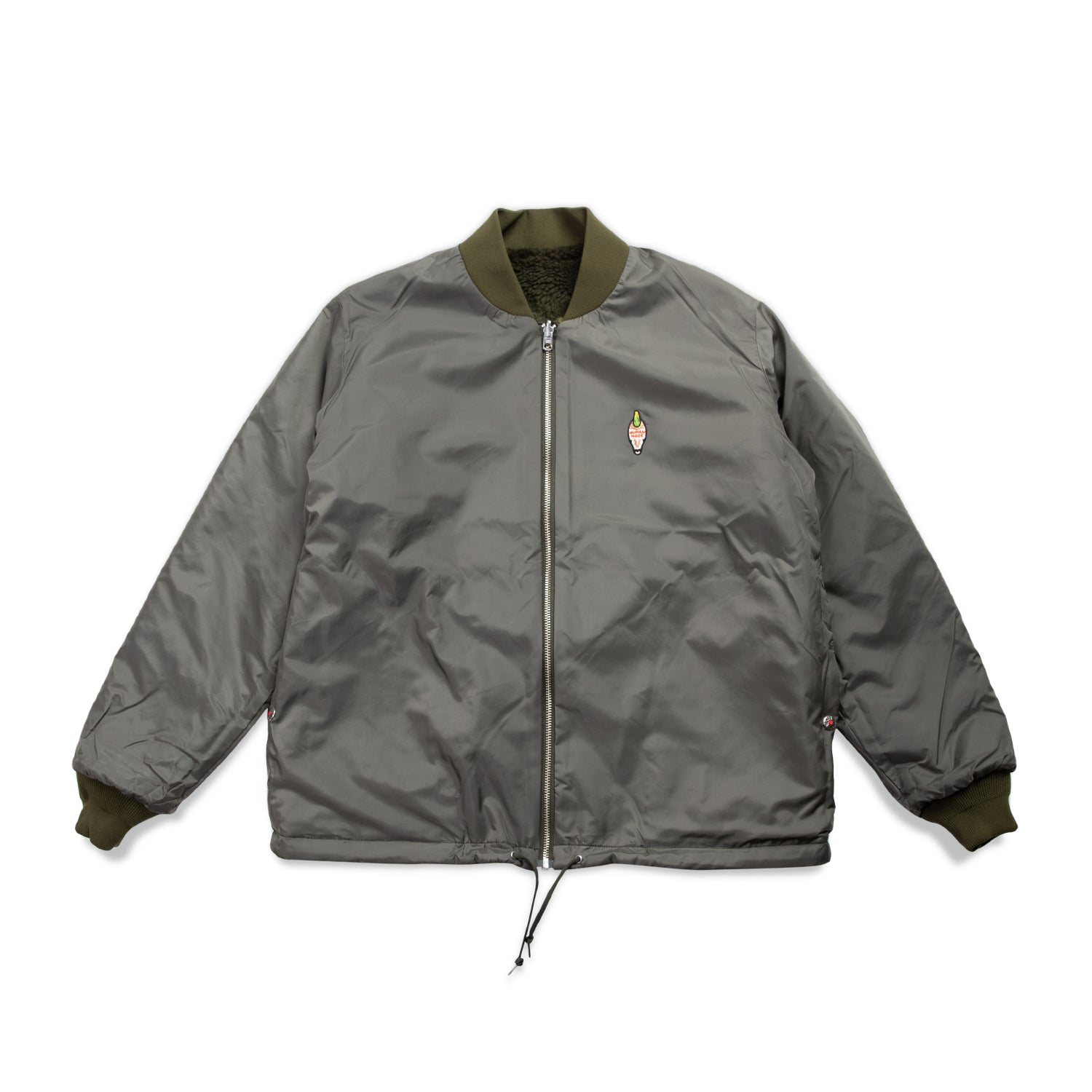 REVERSIBLE FLEECE JACKET