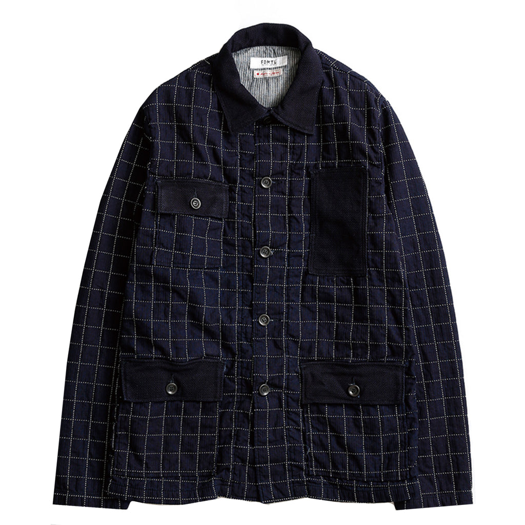 INDIGO SHIRT JACKET RINSE