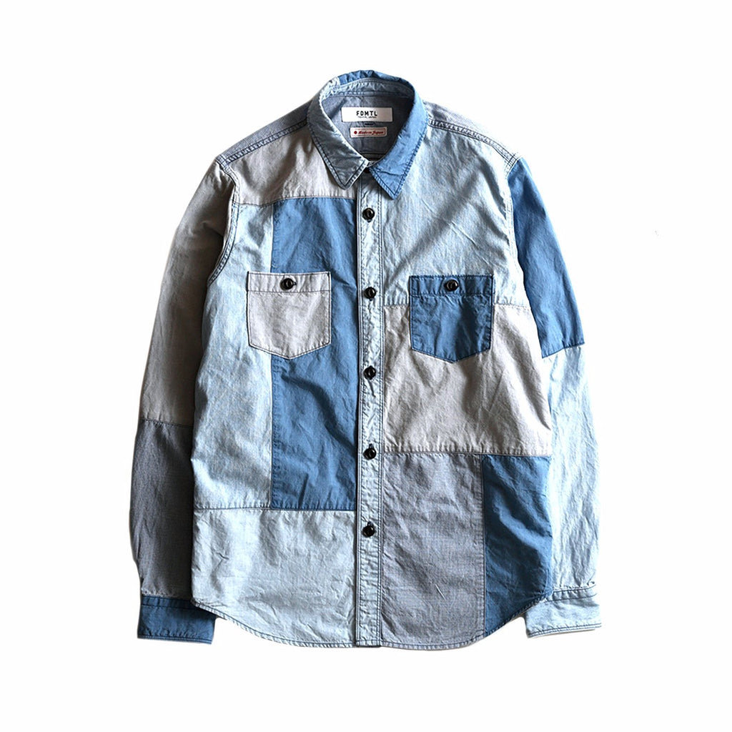 BORO PATCHWORK SHIRT 3YR WASH