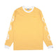 SMALL STRIPE L/S T-SHIRT / YELLOW & WHITE / S