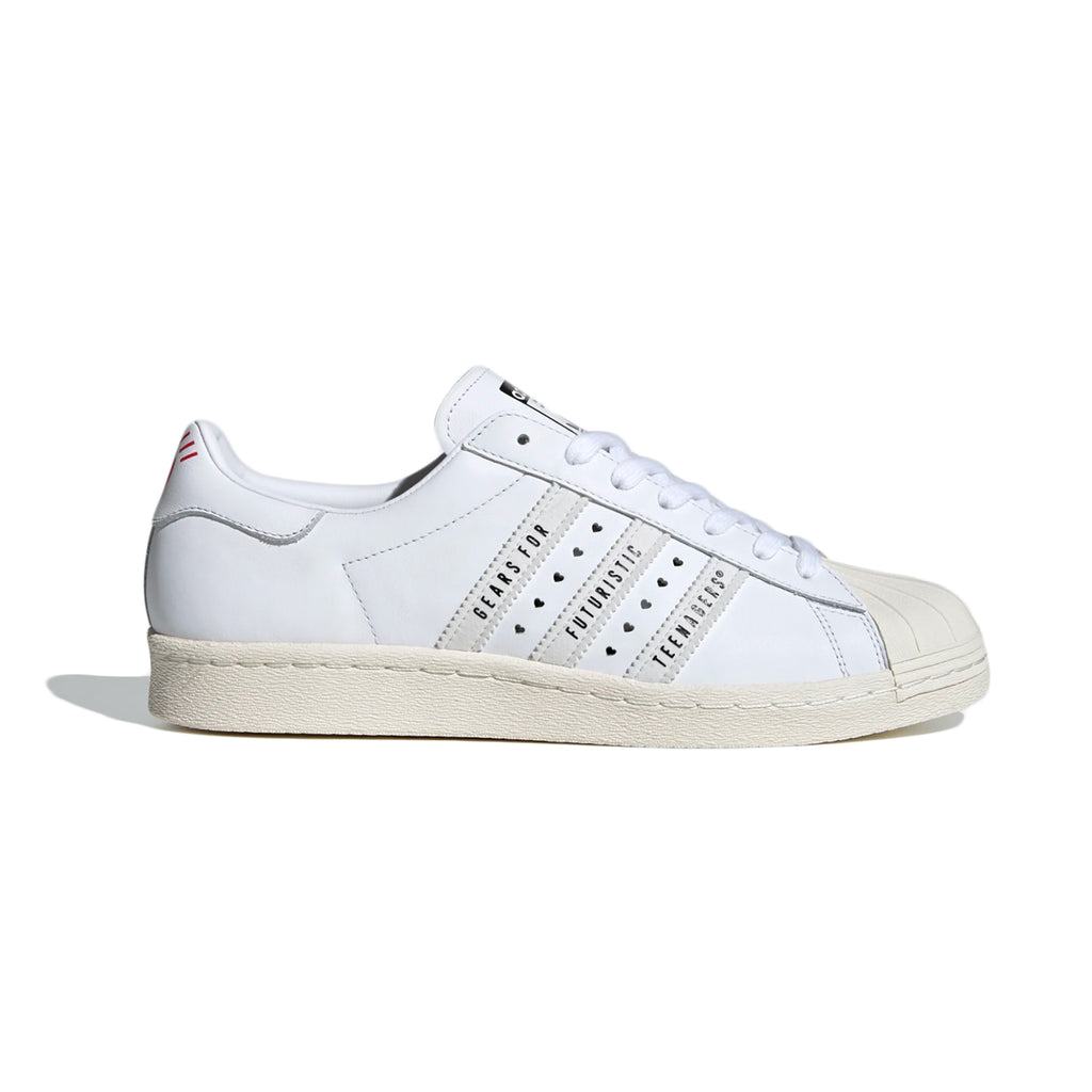 SUPERSTAR 80S HUMAN MADE SHOE OFF WHITE