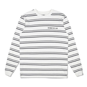 STRIPE KNIT L/S T-SHIRT