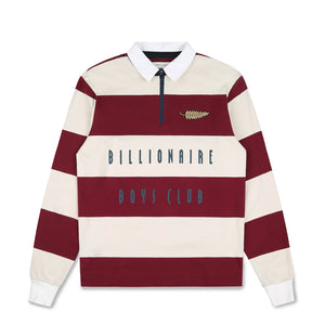 STRIPED ZIP RUGBY SHIRT