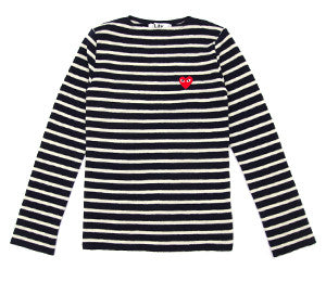 CDG Play Striped Sweater