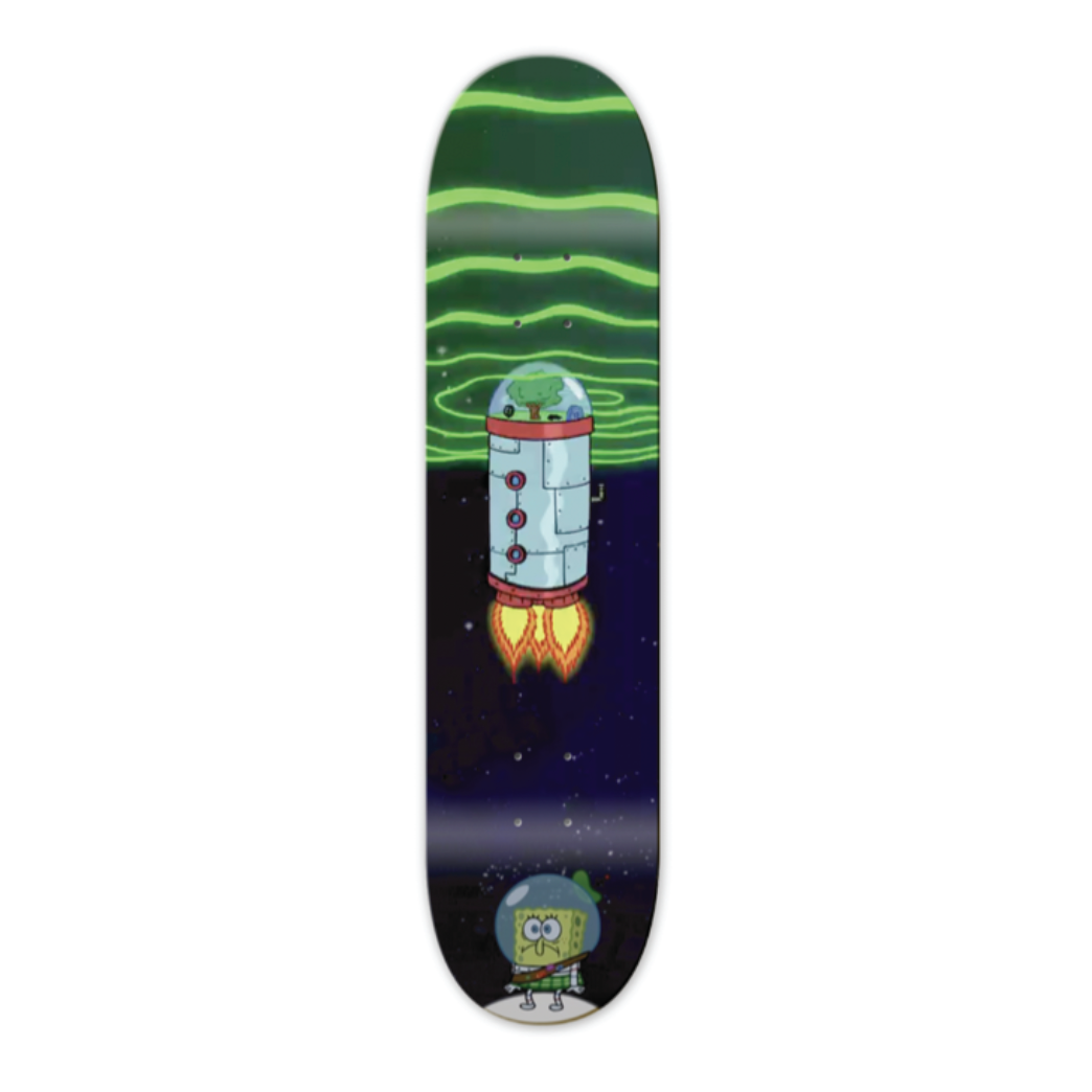 BBC X SPONGEBOB ORBIT DECK